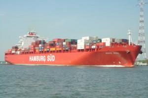 Kühlcontainerschiff mit 1.365 Kühlcontainer-Stellplätzen