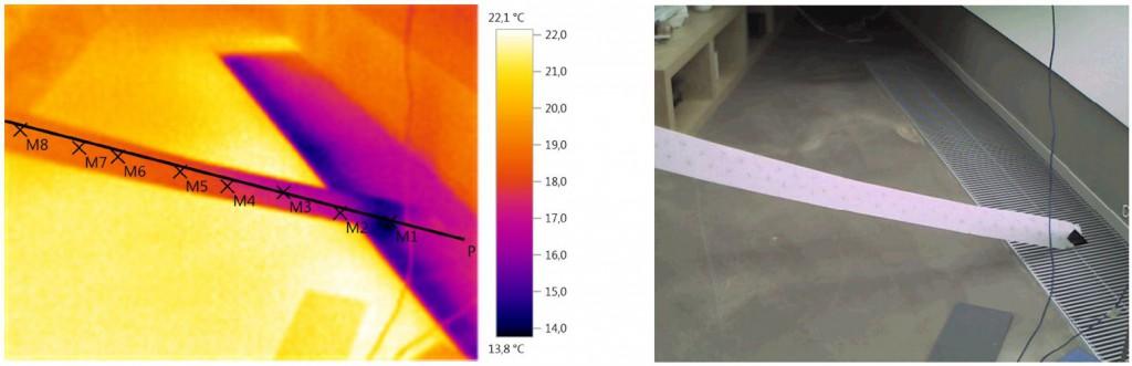 Wärmebildaufnahme Thermografie
