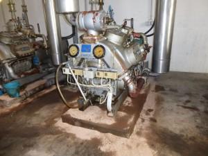 Kolbenverdichter in Kälteanlage, Kältetechnik